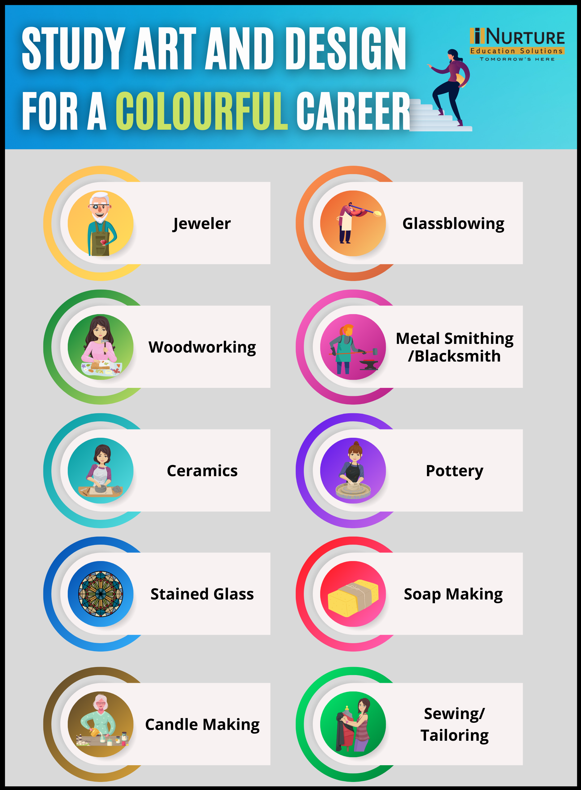 Study Art and Design for a colourful Career